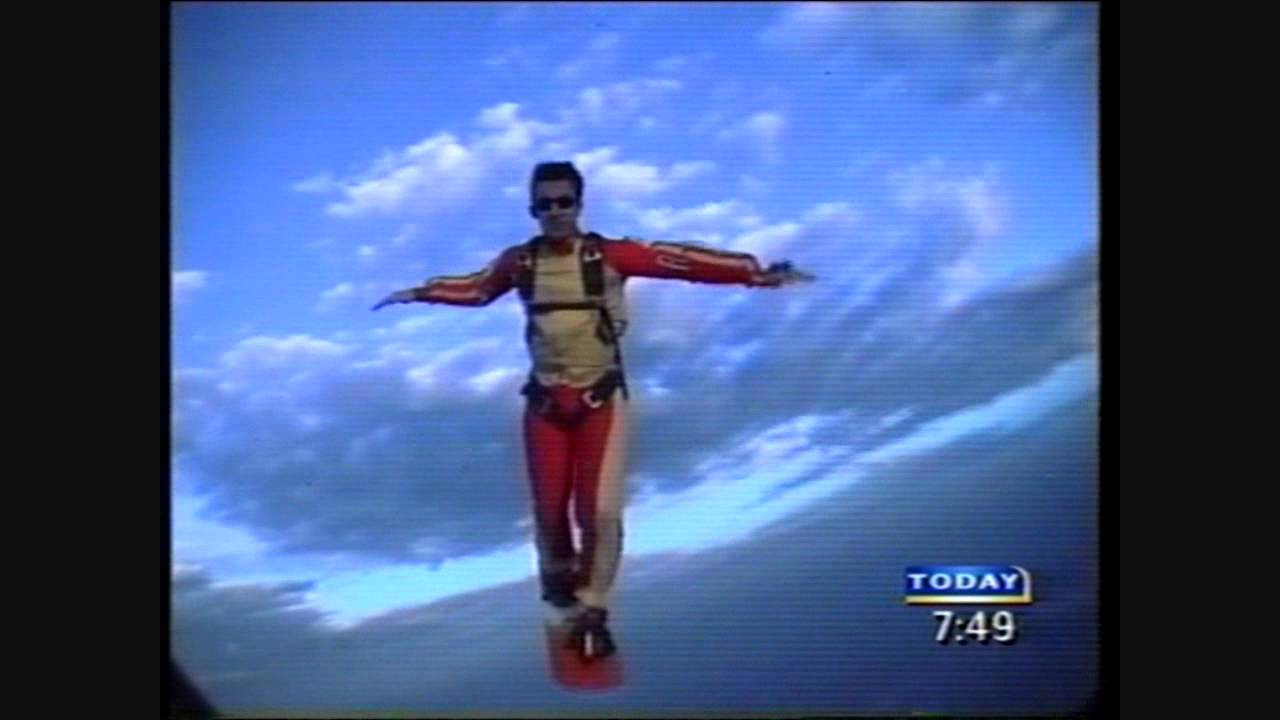 iPOC skysurf Mike & Pauline 2001 media showreel Today show LIVE